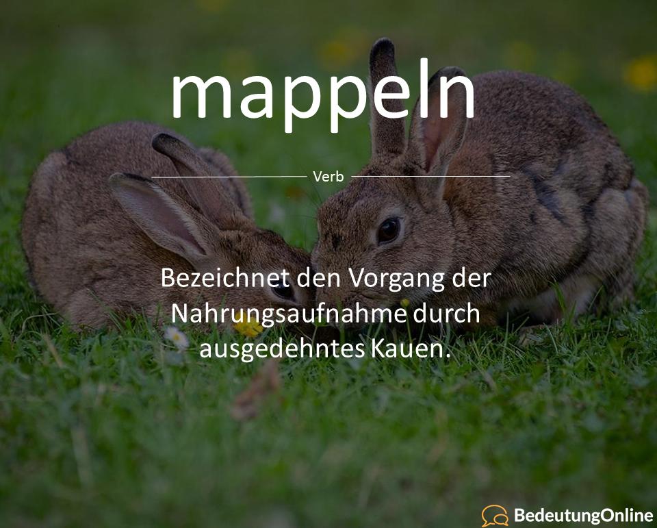 mappeln