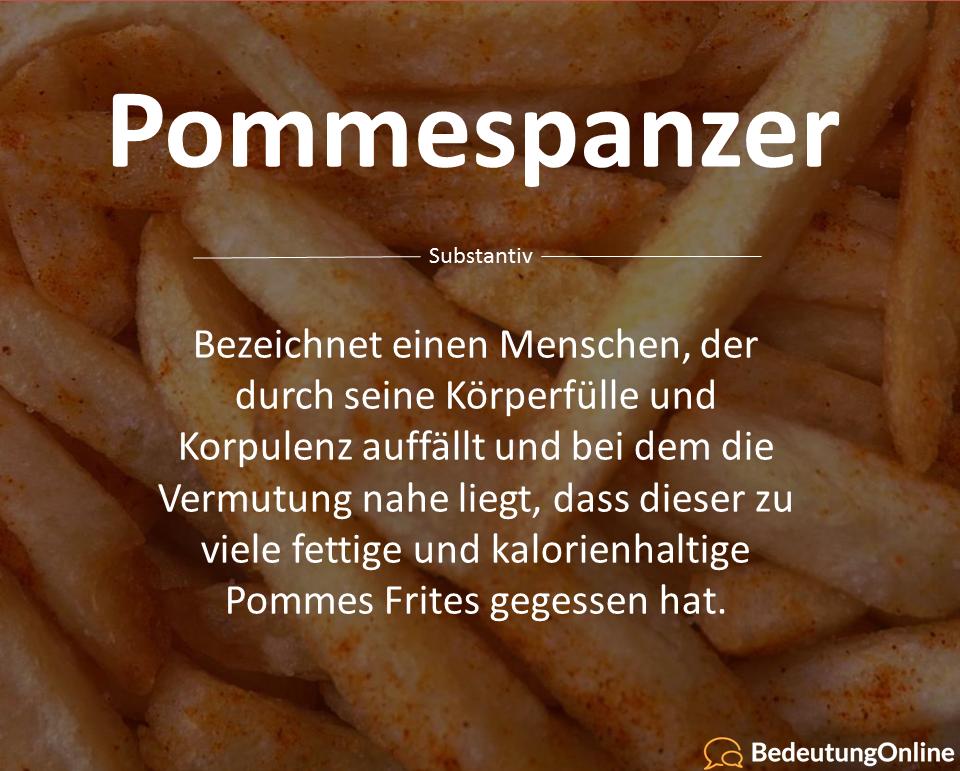 Pommespanzer