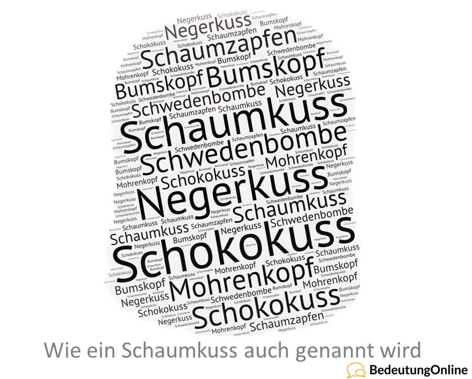 Synonyme schaumkuss