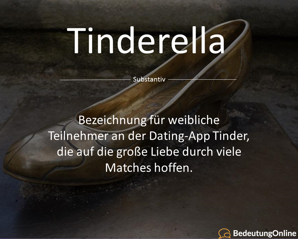 Tinderella, ein Tindermärchen