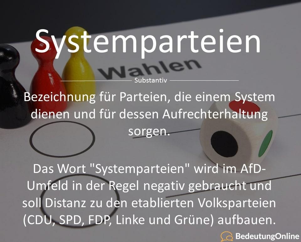 Systemparteien