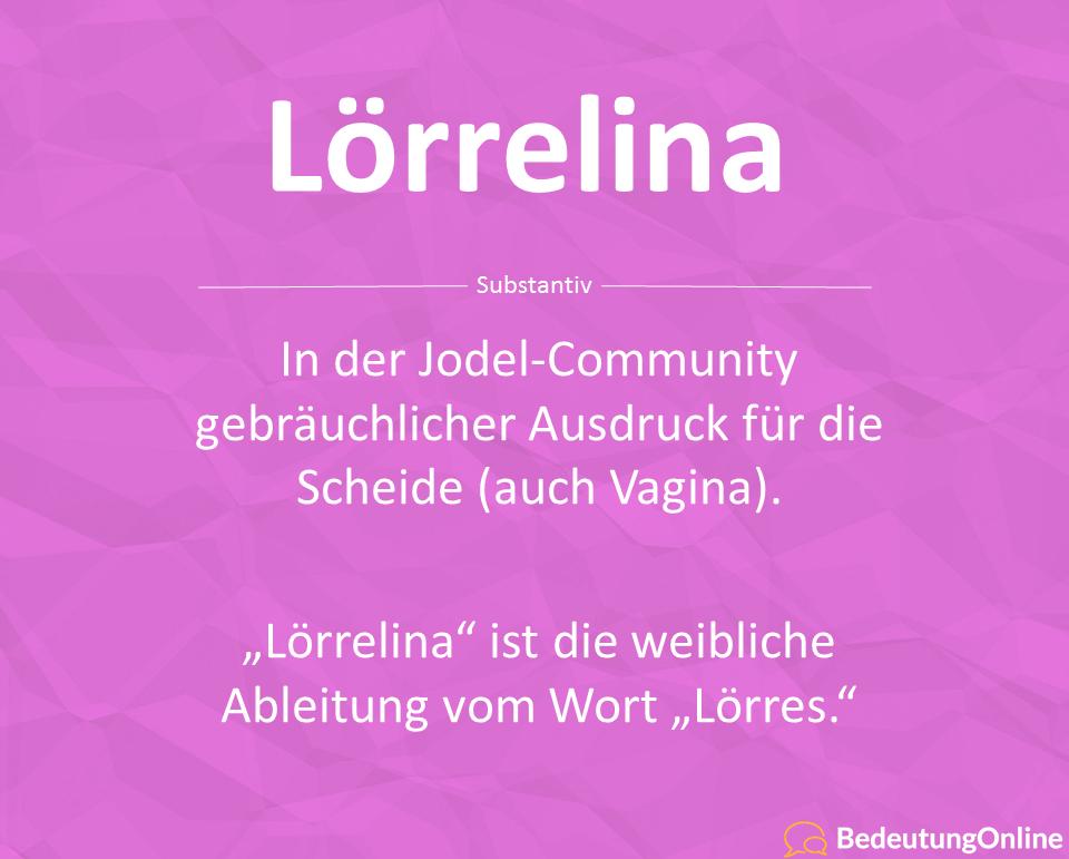 Lörrelina