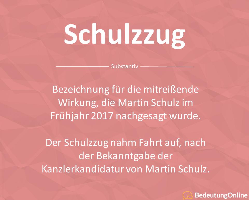 Schulzzug