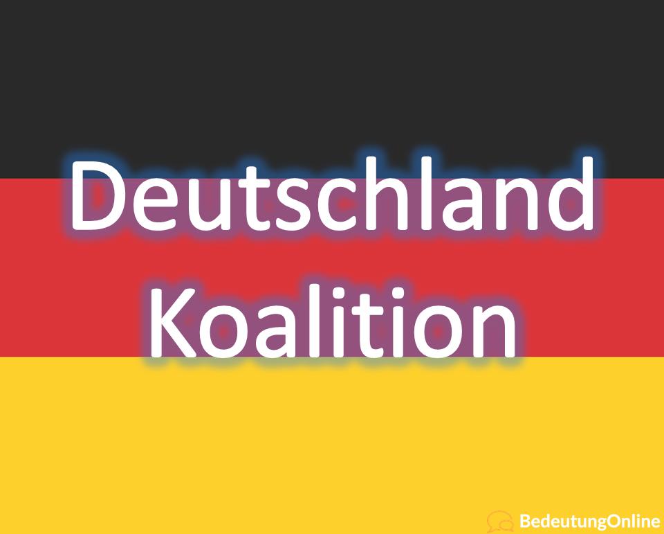 Deutschland Koalition