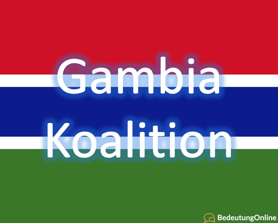 Gambia Koalition – Bedeutung erklärt