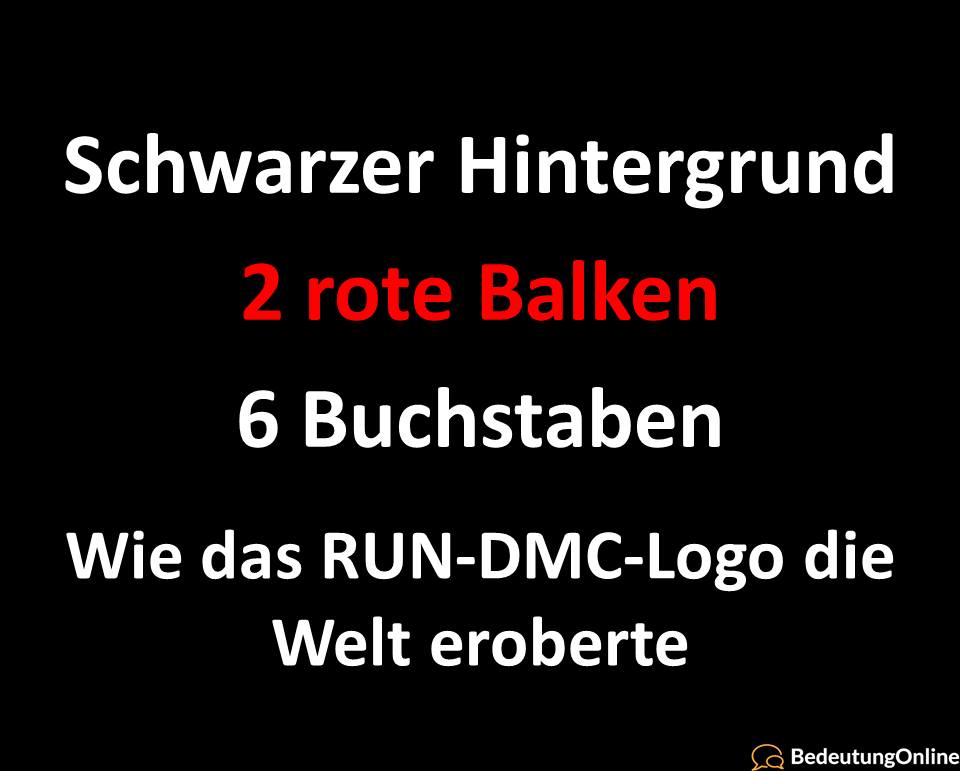 Wie das RUN-DMC-Logo die Welt eroberte: Über 60 Varianten gefunden