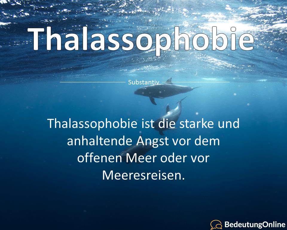 Thalassophobie: Die Angst vor dem offenen Meer (Bedeutung, Definition)