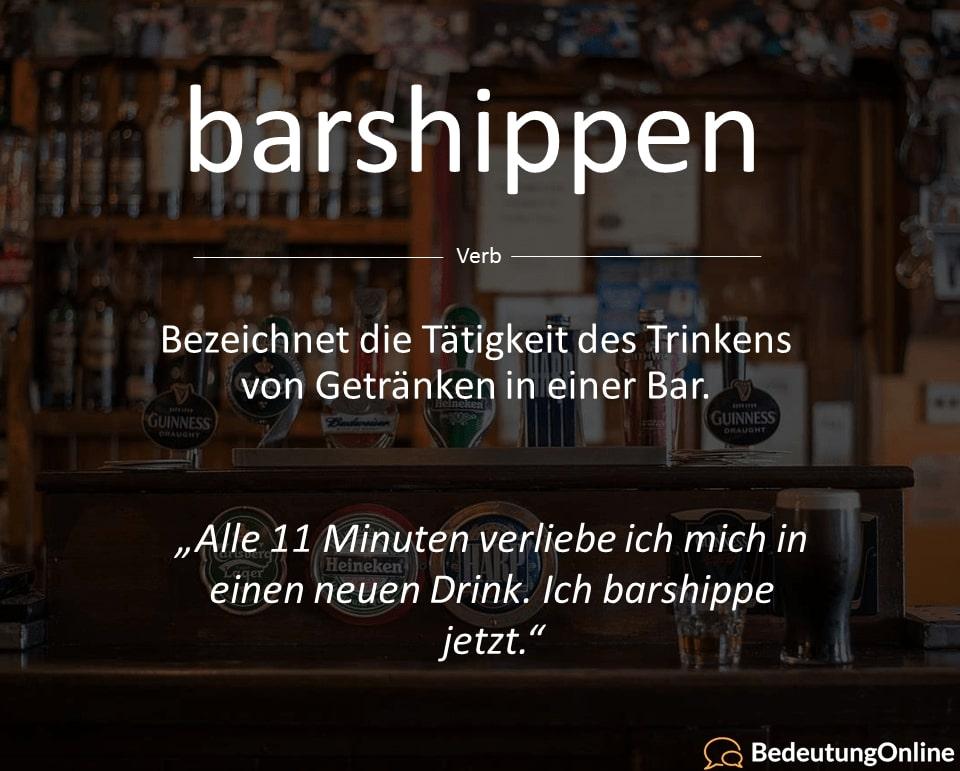 """""""Alle 11 Minuten"""" Sprüche: Vom Barshippen, Paarkiffen, Paarkippen, Paarschiffen und Paarschippen"""