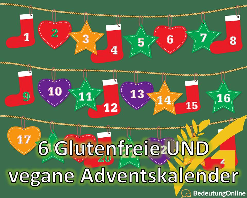 6 Glutenfreie UND vegane Adventskalender für dich! Übersicht