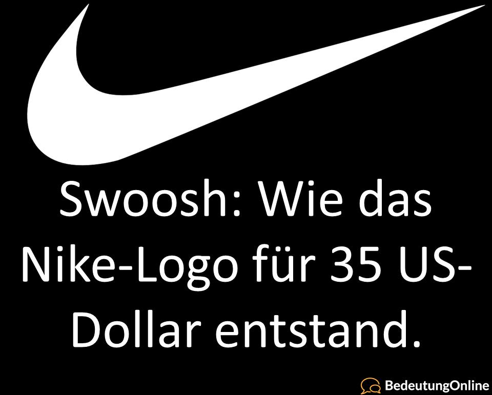 Wie heißt das Nike-Logo? Was bedeutet Swoosh auf deutsch? Übersetzung, Namensherkunft und Bedeutung erklärt