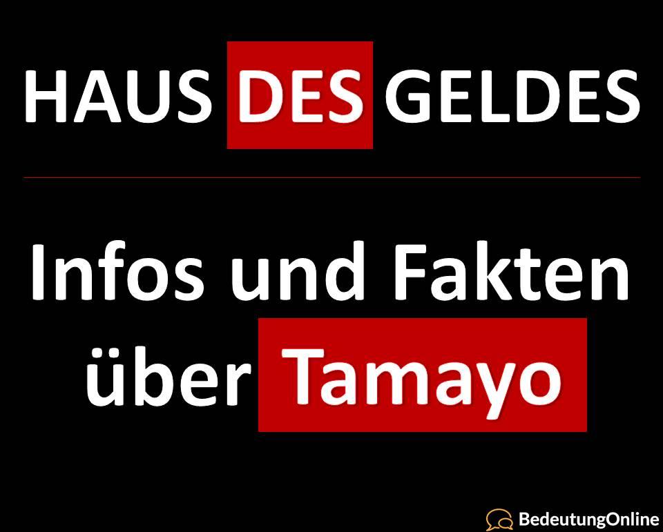 Haus des Geldes: Tamayo – Infos, Fakten, Schauspieler
