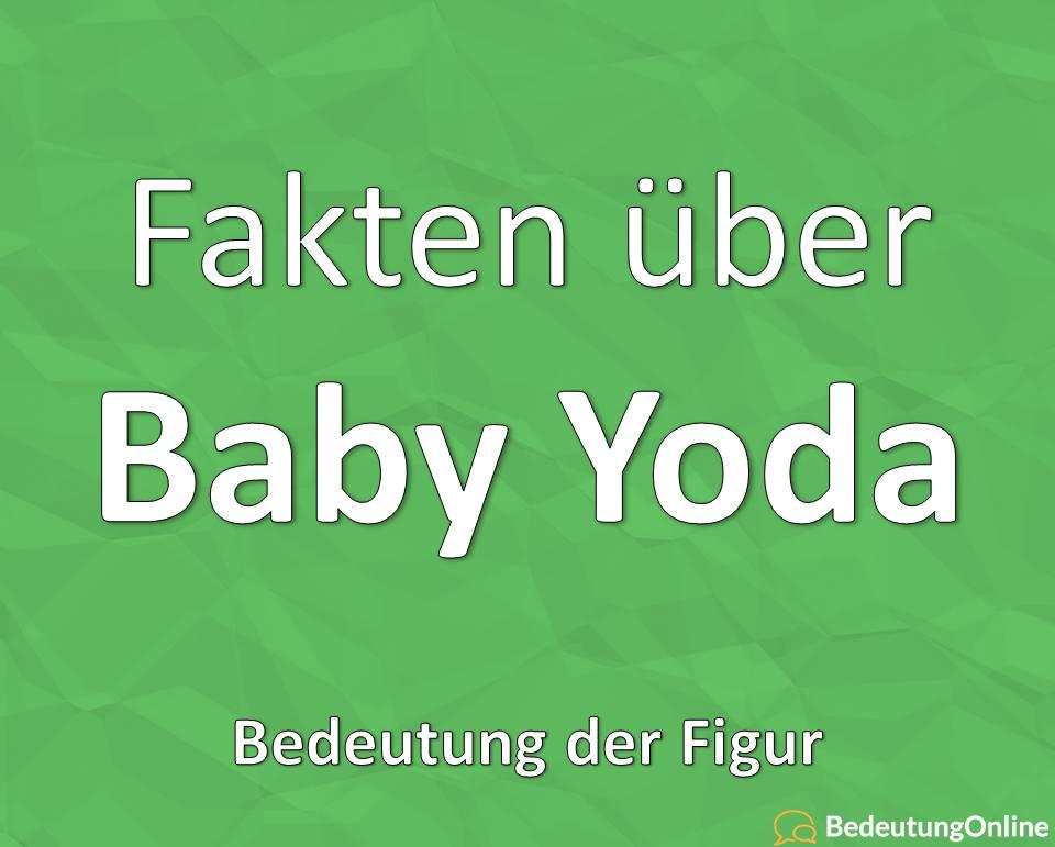 Baby Yoda: Bedeutung des Meme, Figur Plüsch