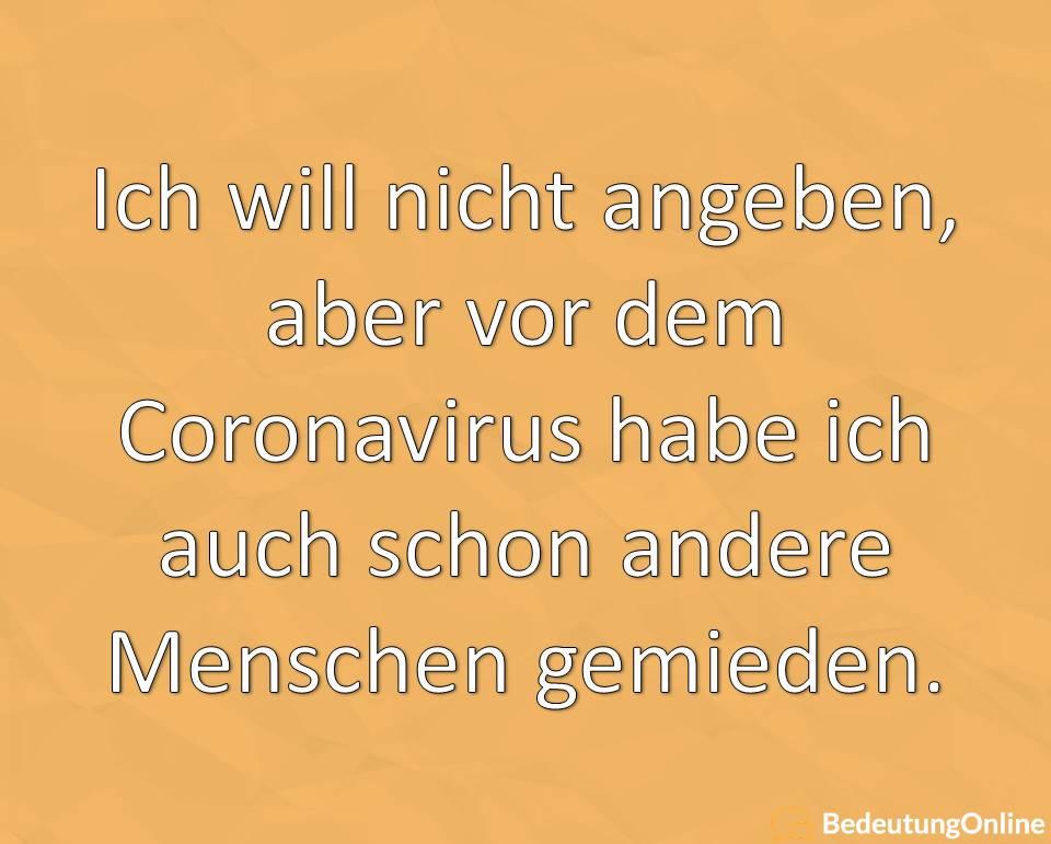 Lustige Sprüche Coronavirus