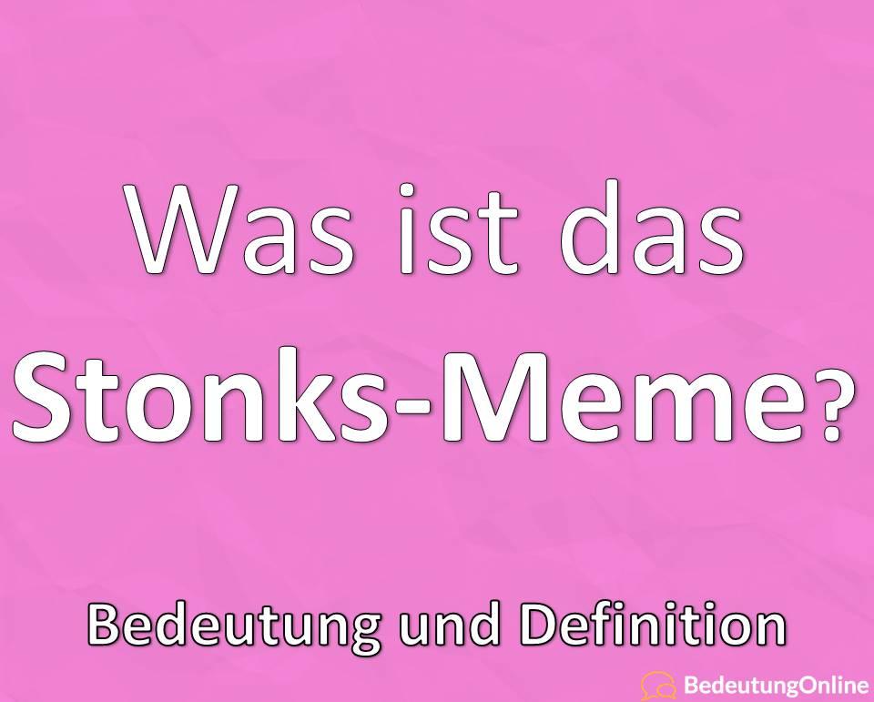"""Was bedeutet """"Stonks""""? Meme, Bedeutung, Definition, Übersetzung auf deutsch"""