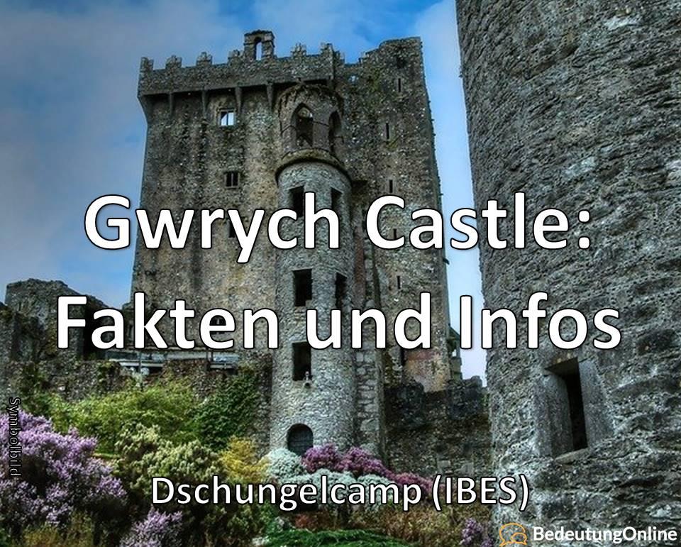 Gwrych Castle: Dschungelcamp (IBES), Fakten, Infos, Wissenswertes