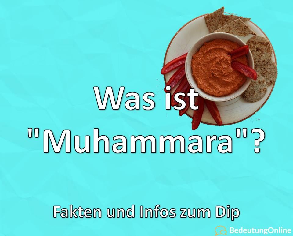 """Was ist """"Muhammara""""? Infos und Fakten zum Dip"""