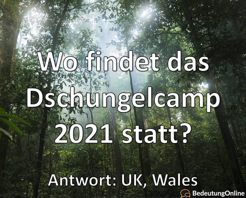Wo findet das Dschungelcamp 2021 statt? Ort, Drehort