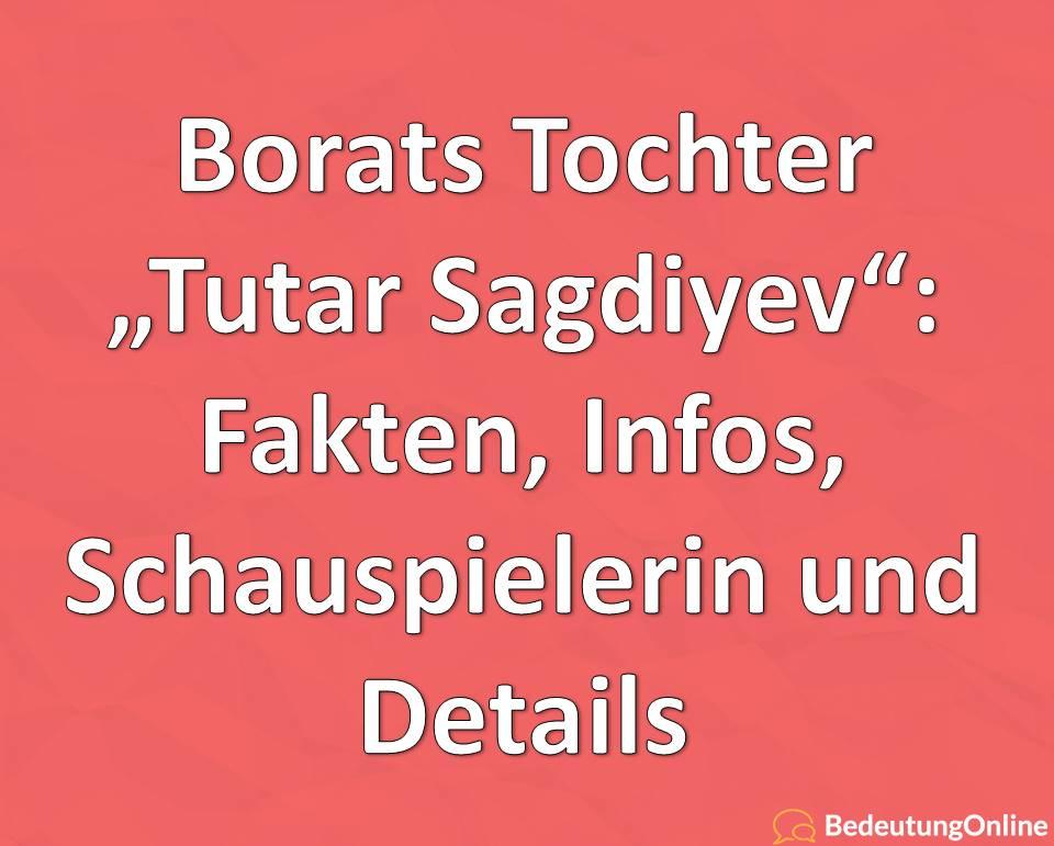 """Borats Tochter """"Tutar Sagdiyev"""" (Maria Bakalova): Schauspielerin, Lebenslauf, Biografie, Steckbrief, Instagram"""