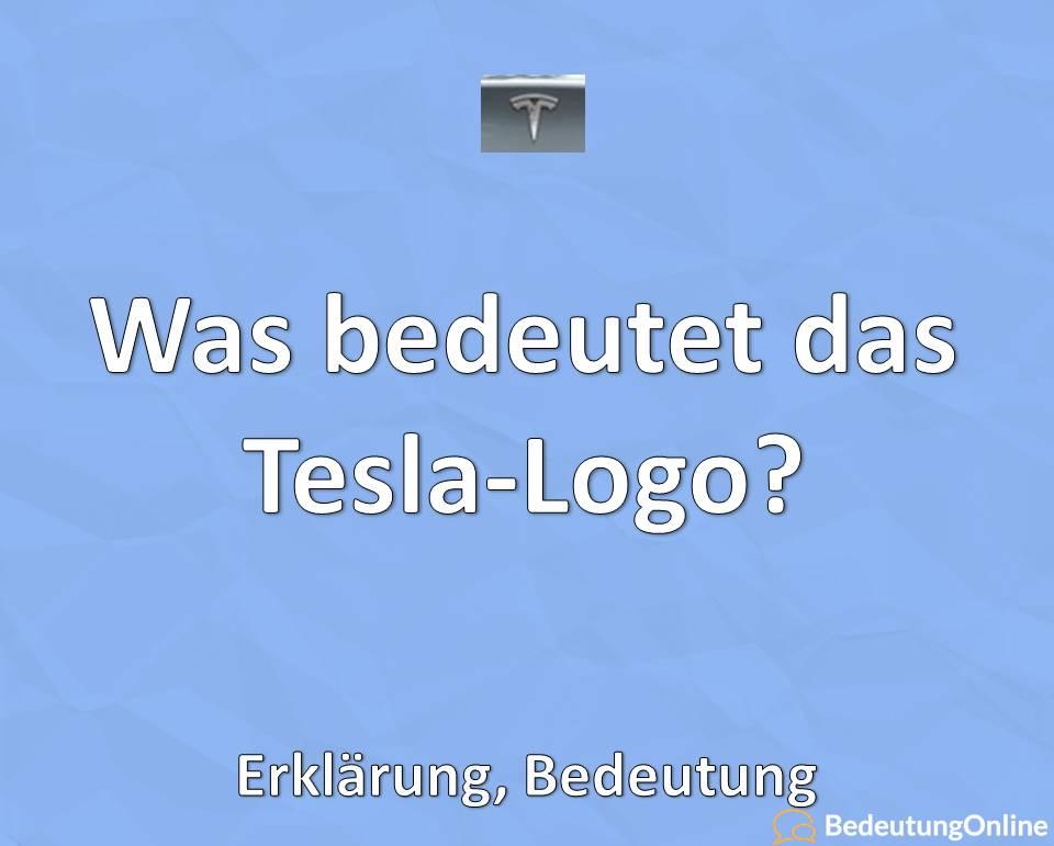 Was bedeutet das Tesla-Logo? Erklärung, Bedeutung