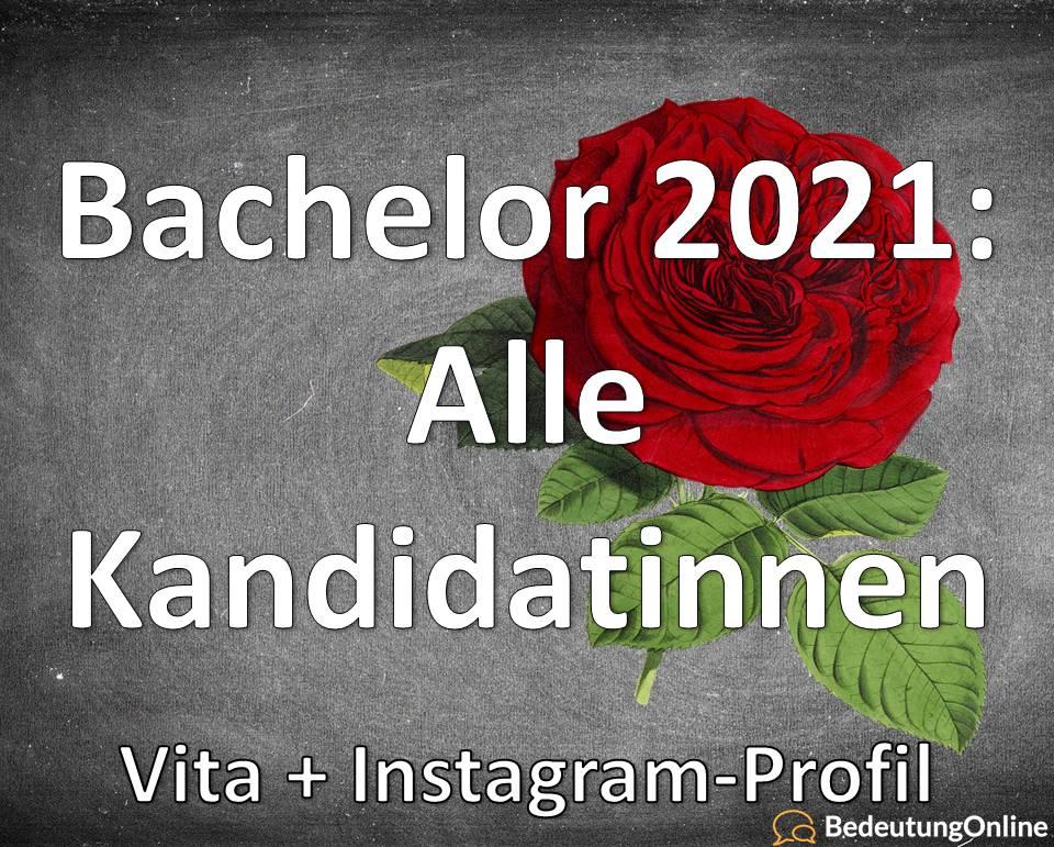 Bachelor 2021: Alle Kandidatinnen / Teilnehmerinnen + Instagram-Profile