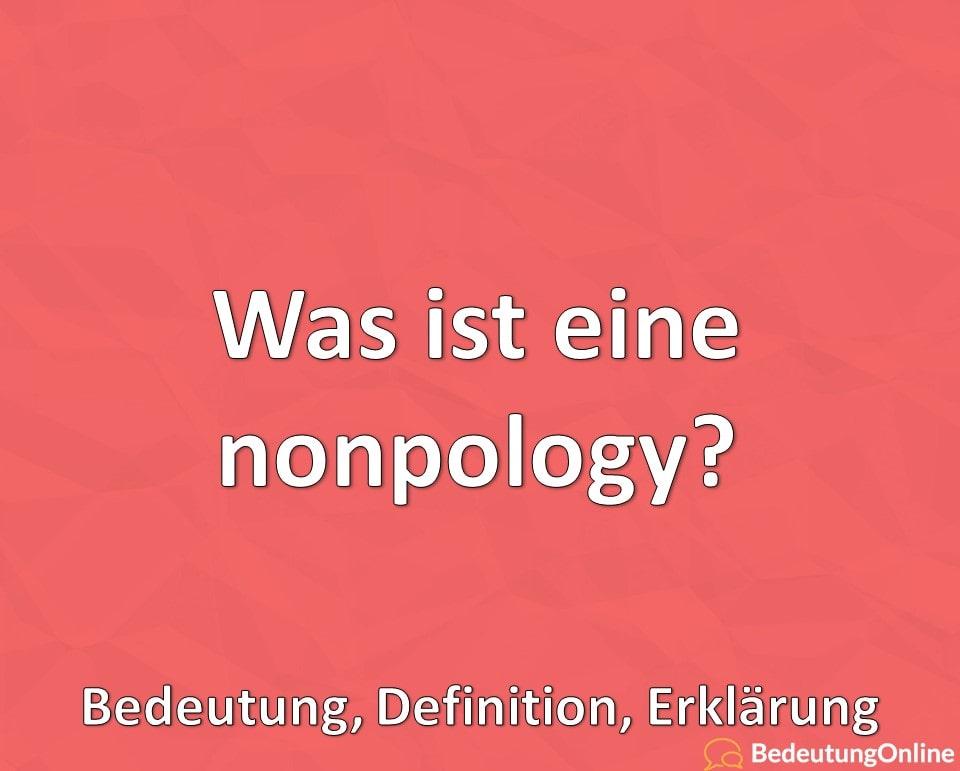 Was ist eine nonpology, Nicht-Entschuldigung, Bedeutung, Definition, Erklärung