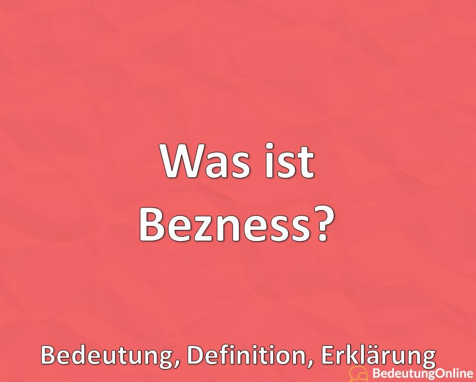 Was ist Bezness? Bedeutung, Definition, Erklärung